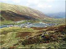 NY2213 : The Summit of Honister Pass by Andy Beecroft