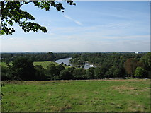 TQ1773 : The River Thames - View from Richmond Hill by Alan Swain
