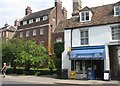 TL4457 : University Newsagents - Trumpington Street by Sandy B