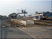 SX9193 : Exeter St David's from the north by Roger Cornfoot