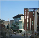 SJ3490 : John Lewis Store, Canning Place, Liverpool by Kevin Gordon