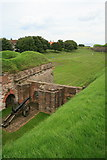 NT9953 : Cannon on Cumberland Bastion by David Lally