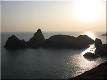 SW6813 : Asparagus Island at sunset by Ulrich Hartmann
