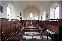 SE3766 : St Mary, Roecliffe, North Yorkshire - West end by John Salmon