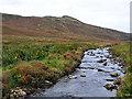 NN9734 : Shochie Burn in Little Glen Shee by Dr Richard Murray