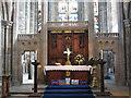 NZ5233 : High altar of St Hilda's by Stephen Craven