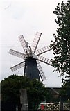 TF1443 : Heckington eight sail Mill by Andrew Wood
