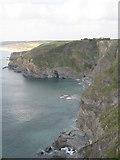 SW6521 : Halzephron Cove by Rod Allday