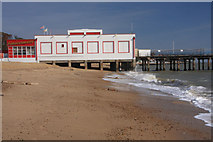 TM3034 : Felixstowe Pier by Bob Jones