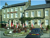 SK0386 : The Royal Hotel, Hayfield by Kenneth  Allen