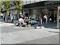 SD3317 : Chapel Street Buskers by Gerald England