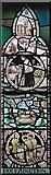 TQ3480 : St Peter's London Docks, Wapping Lane - Window by John Salmon