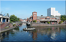 SP0586 : Farmer's Bridge Junction Birmingham by Roger  Kidd