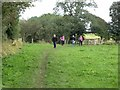 NY4761 : Walkers on Hadrian's Wall National Trail by Oliver Dixon