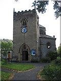 SK2375 : Stoney Middleton - Parish Church of St. Martin by Alan Heardman