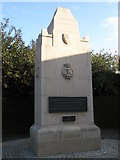 SU6400 : Memorial to Portsmouth's Second World War dead by Basher Eyre