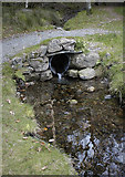 NY3200 : Small feeder beck to Yew Tree Tarn by Tom Richardson