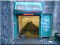 NS5466 : Clyde Tunnel pedestrian entrance by Mark Nightingale