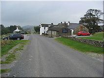 SK2077 : Bretton - Approaching the Barrel Inn by Alan Heardman