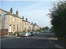 SE1321 : Houses, Crowtrees Lane, Rastrick by Humphrey Bolton
