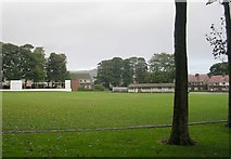 SE0423 : Sowerby St Peter's  Cricket Club - St Peter's Avenue by Betty Longbottom