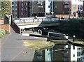 SP0687 : Farmer's Bridge Locks No 4 and Saturday Bridge, Birmingham by Roger  Kidd