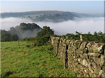 SK2480 : Hathersage - View from near Booth's Edge by Dave Bevis