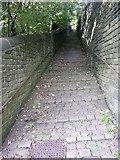 SE0724 : Footpath off Burnley Road, Halifax by Humphrey Bolton