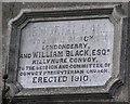 C2101 : Memorial Hall plaque by Kenneth  Allen