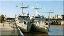 J3474 : Dutch naval visitors, Belfast by Albert Bridge