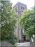 SE3121 : Tower of St Paul's Church - St Paul's Drive, Wrenthorpe by Betty Longbottom