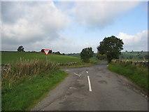 SK2158 : Lane Junction by Alan Heardman